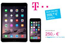 Telekom: iPhone 6 und iPad mini 3 zusammen für nur 250 Euro