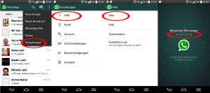 WhatsApp Anrufe - Version
