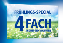 1&1 4 FACH highspeed volumen