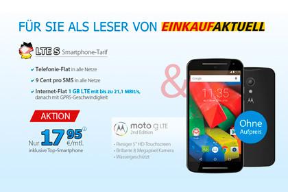 Deutschlandsim LTE S & Moto G