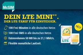 LTE Mini Tarife von McSIM können zuweilen teuer werden