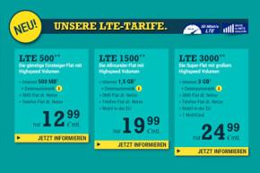 McSIM bringt fünf neue Allnet-Flats mit LTE-Volumen auf den Markt