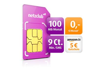 Netzclub Amazon-Gutschein