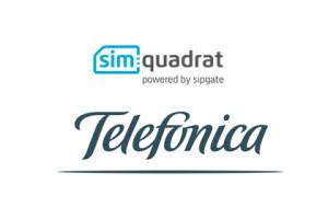 Simquadrat und Telefónica
