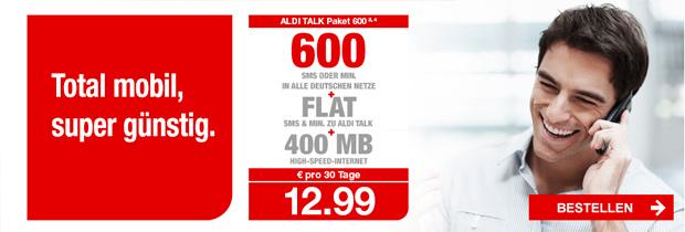 ALDI TALK Paket 600