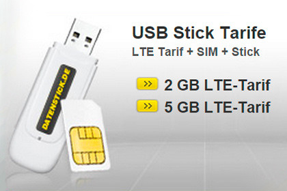 datenstick USB Stick Tarife