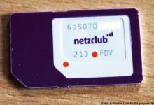 SIM-Karte von netzclub