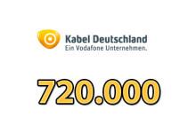 Kabeldeutschland 720.000