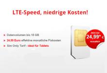 lterouter 15 GB LTE-Daten für nur 24,99 Euro