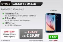 sparhandy Otelo Tarif mit Samsung Galaxy S6