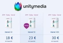 Unitymedia Internet Exklusiv für Neukunden