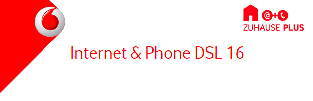Vodafone Internet Phone DSL 16