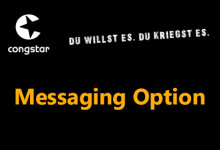 congstar Messaging Option
