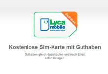 lycamobile SIM-Karte mit Guthaben