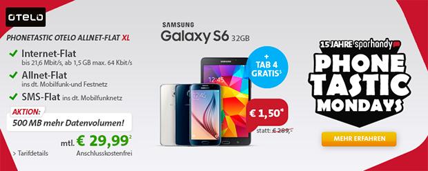 sparhandy Allnet-Flat mit Galaxy S6