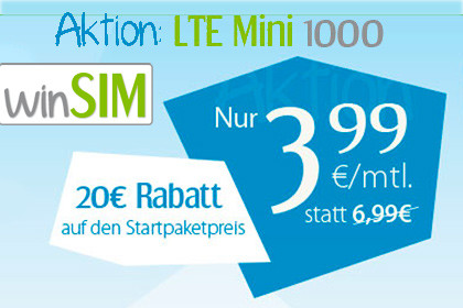 winSIM LTE Mini 1000