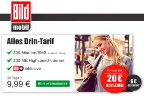 BILDmobil: Extra-Guthaben bis Ende September