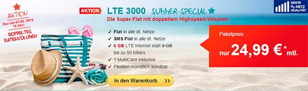 hellomobil LTE 3000 Aktion
