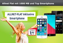 mobilcom-debitel Vodafone Smart L und Top Smartphone