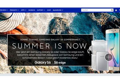 Samsung Galaxy S6-Sommer-Aktion