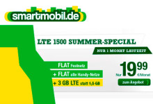 Smartmobil LTE 1500 Summer-Special