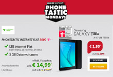 Sparhandy Phonetastic Mondays Internet-Flat 3000