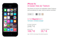 Telekom iPhone 5S Aktion