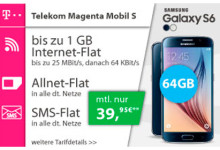Telekom MagentaMobil S + Top Smartphone