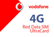 Vodafone 4G - Red Data SIM und UltraCard