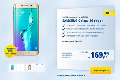 1und1 Samsung GALAXY Edge Plus