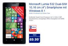 Aldi Nord Microsoft Lumia 532 Dual-SIM