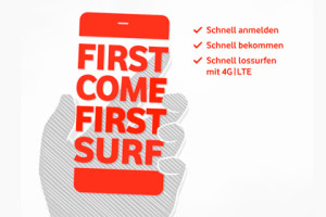 First Come First Surf