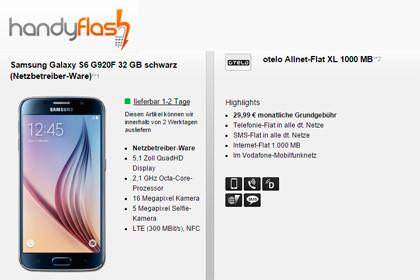 handyflash Otelo Allnet-Flat XL 1000