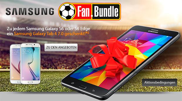 Samsung Galaxy S6 und Tab 4 mit 2 GB Allnet-Flat