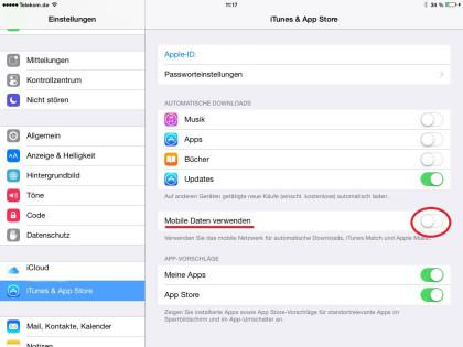 Deaktvieren Aktualisierungen von Updates auf iPhone und iPad