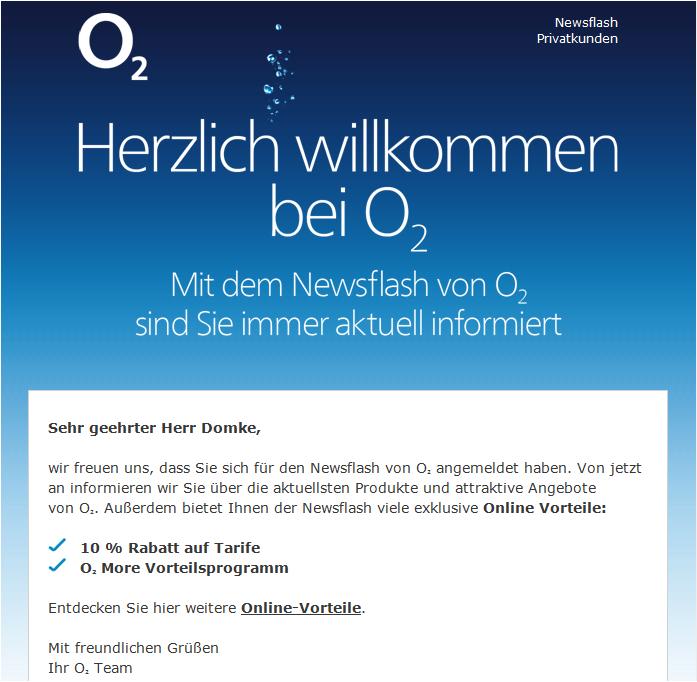 o2 Newsflash