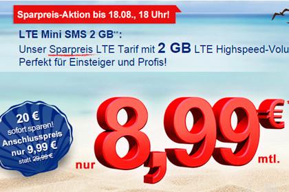 simply LTE Mini SMS 2 GB