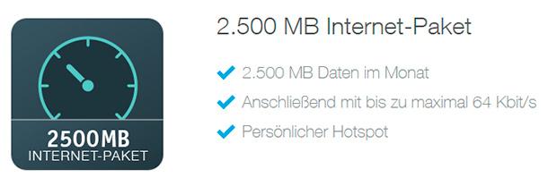 simquadrat 2500 MB