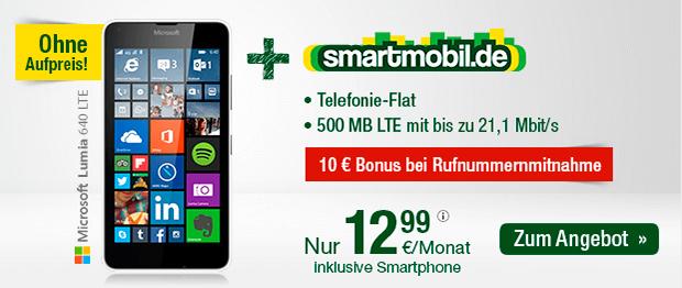 smartmobil.de: Allnet-Flat mit 500 MB