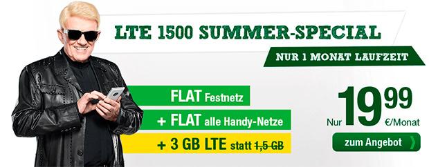 smartmobil LTE 1500 Summer-Specials