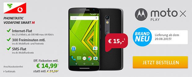 sparhandy Phonetastic Monday: Vodafone Smart M mit Top-Smartphone