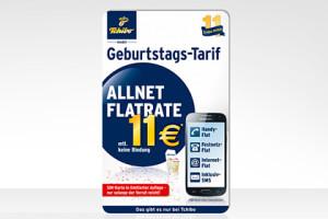 Allnet-Flat mit 100 MB von Tchibo