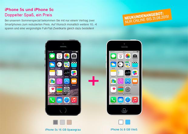 iPhone 5s und iPhone 5c  Doppelter Spaß, ein Preis