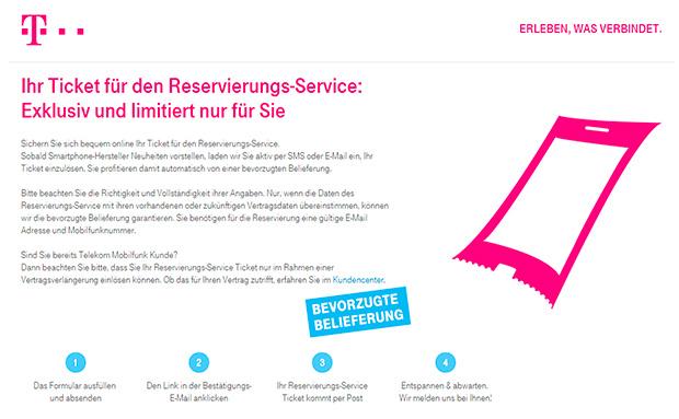 Telekom Reservierungs-Service