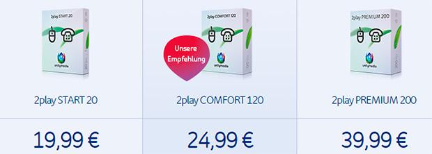Unitymedia 2play Iinternet + Telefon