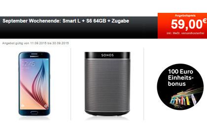 24mobile Smart L + Samsung Galaxy S6