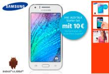 Samsung Galaxy J1 bei Aldi Süd