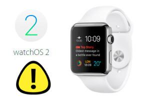 Verzögerung bei Watch OS 2: Apple hält Update zurück