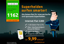 crash-tarife Internet Flat 3000