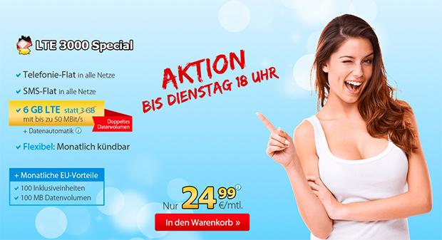 DeutschlandSIM LTE 3000 Special